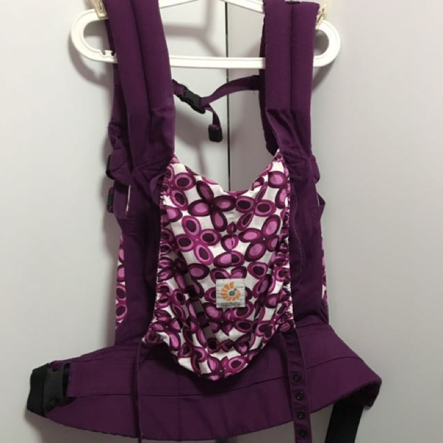 182e9af8223 EUC authentic Ergobaby Purple Mystic baby carrier on Carousell