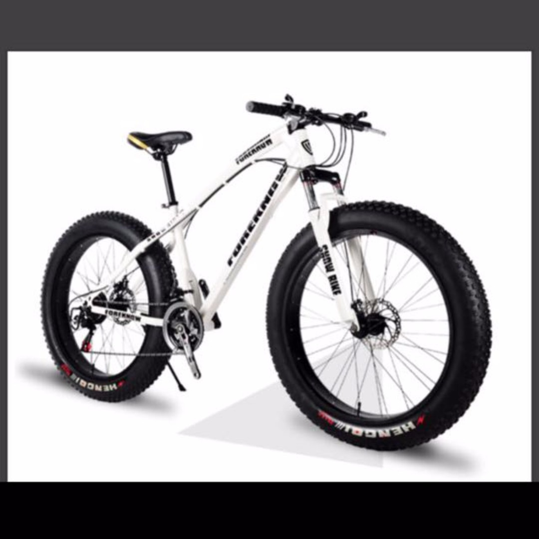 Fat Bike with disc brakes for sale, Sports, Bicycles on Carousell