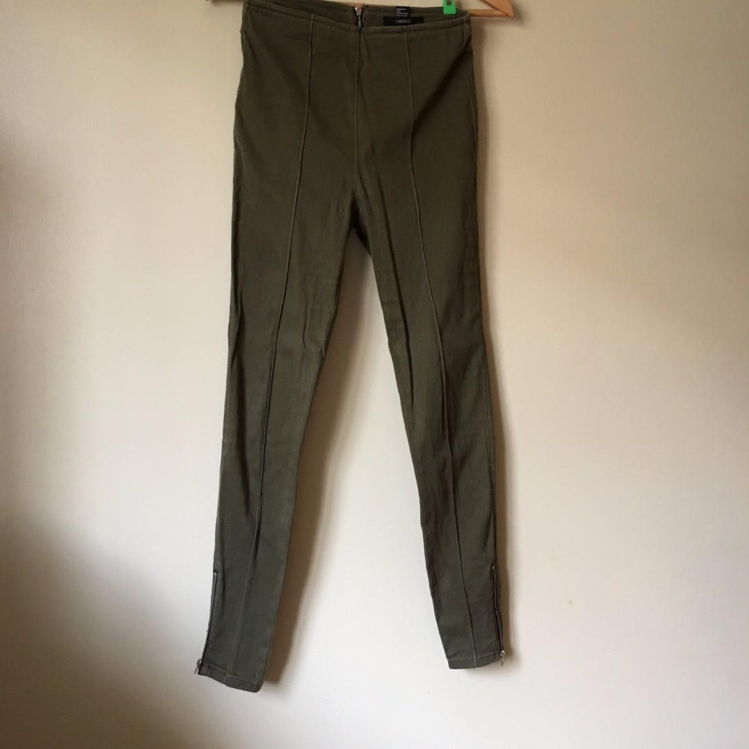 Forever21 Green Pants