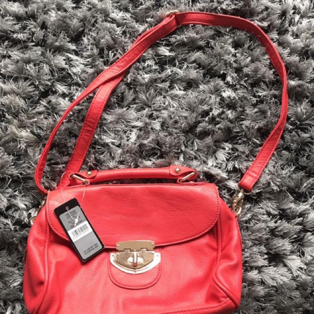 Forever new red bag