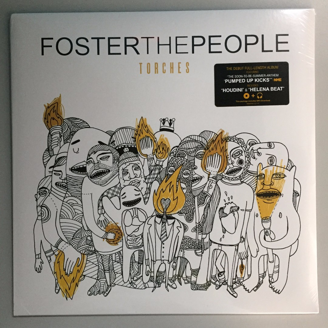 Foster The People Torches Vinyl Plaka Lp On Carousell