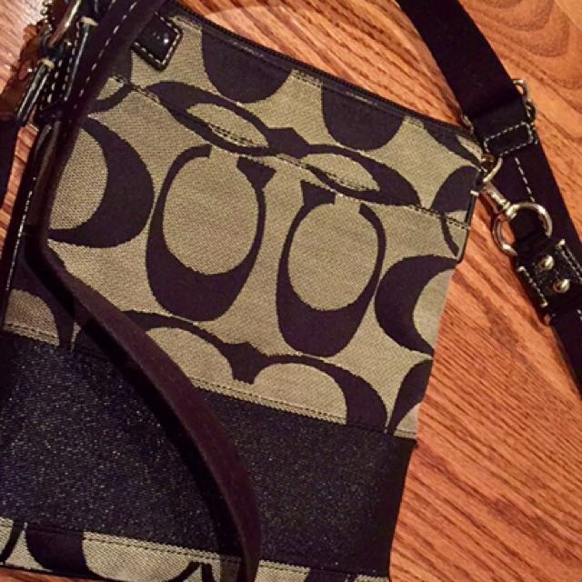 Genuine Coach Cross Body Purse