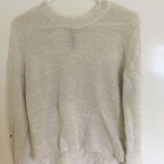 Gold Speck Knit Jumper