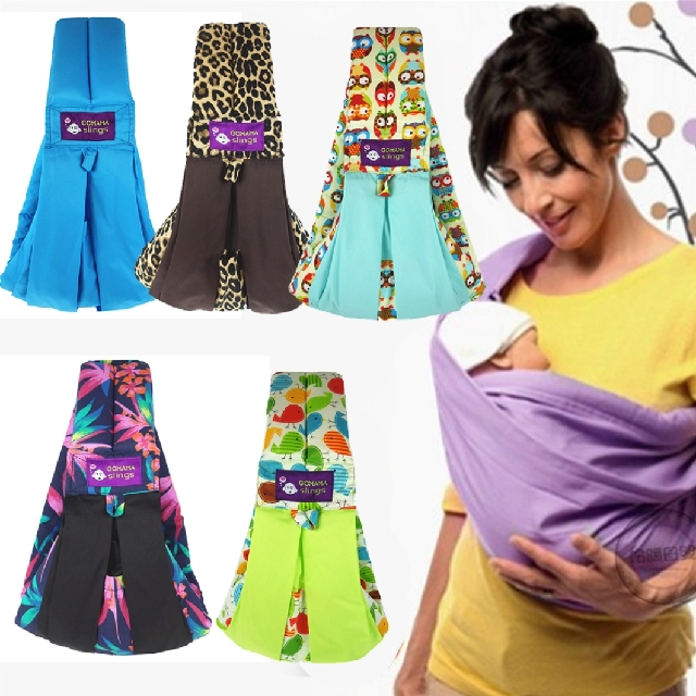 Gomama Baby Sling Carrier Suitable For Newborn Baby