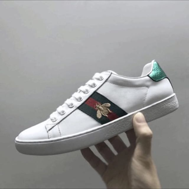 Gucci Ace Embroidered Sneaker, Men's