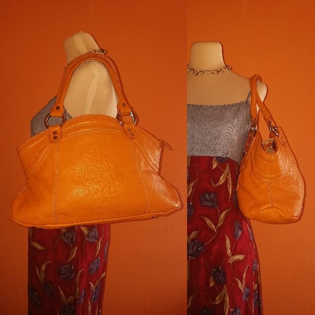 Guy Laroche Leather Hobo Bag
