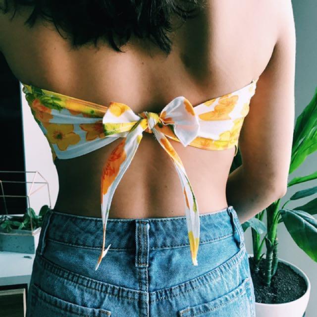Handmade bandana top! 🌸🌸🌸