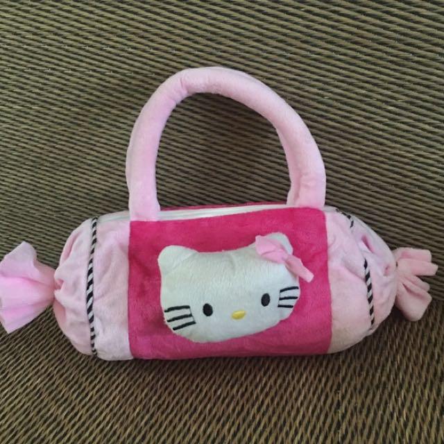 Hello kitty Candy shape zipper kid handbag