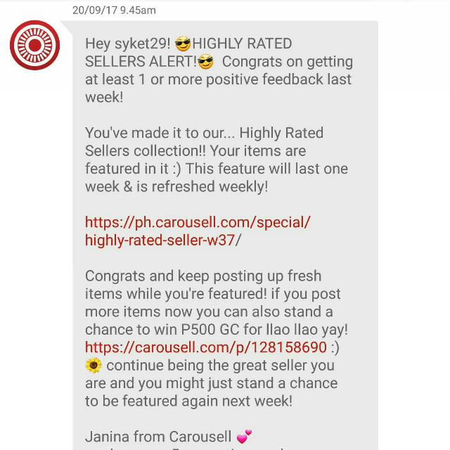 HIGHLY RATED SELLER! Thank you so much! 😘