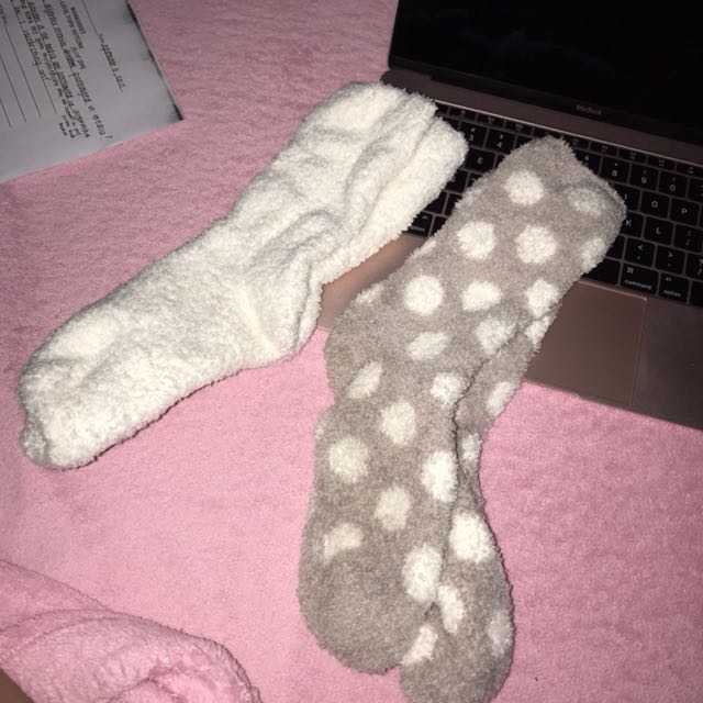 H&M Fluffy Socks
