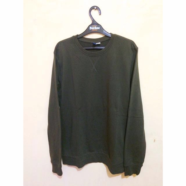 H&M Sweater Divided , Size M , Army