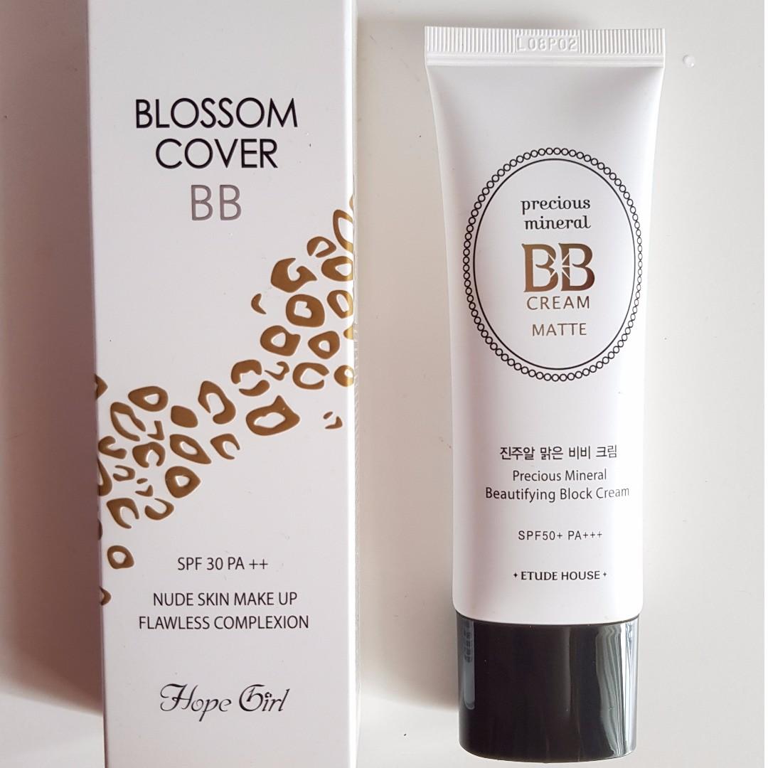 Hope Girl & Etude House BB Cream Products