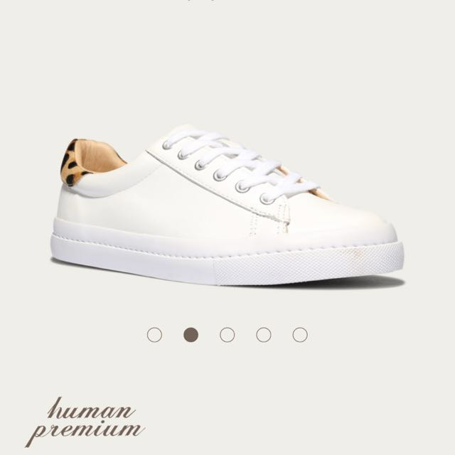 Human Premium leopard sneakers