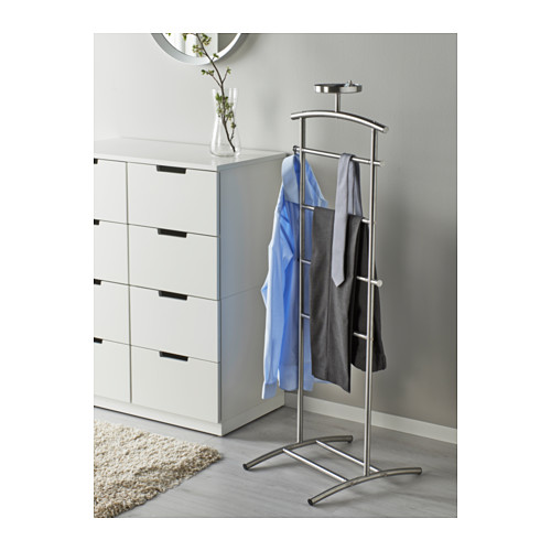 Ikea Grundtal Stainless Steel Valet Clothes And