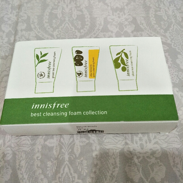 Innisfree best cleasing foam collection