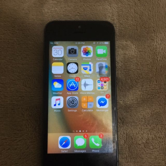 Iphone 5 64gb globelocked
