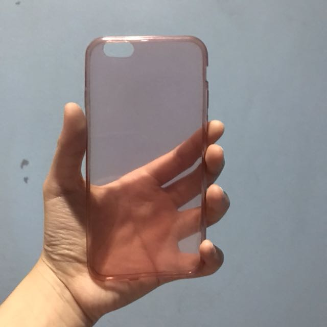 iPhone 6/6s Pink Clear Case