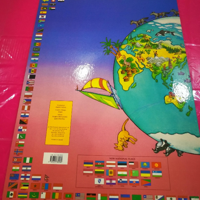 Its a big big world atlas books stationery magazines others its a big big world atlas books stationery magazines others on carousell gumiabroncs Image collections