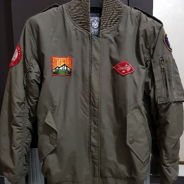 Jacket Bomber Super Keren Good Condition