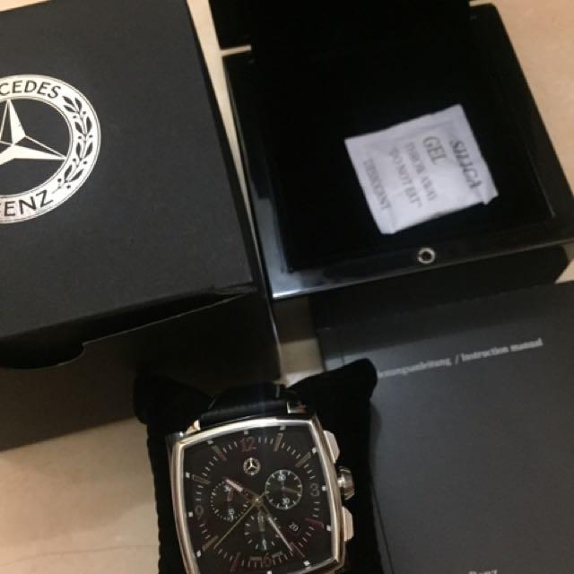 Jam tangan Mercedes Benz Original 100%
