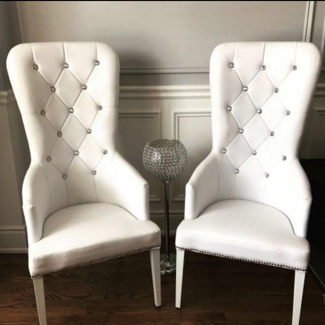 King+Queen Chairs/pair for RENT