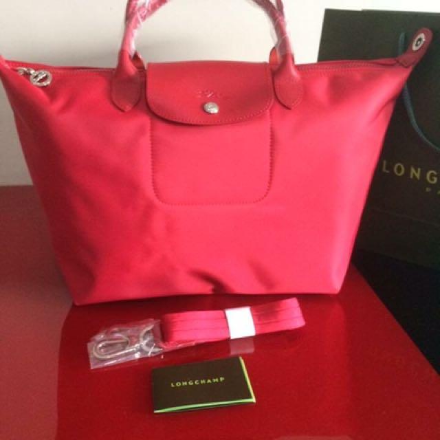 Longchamp neo red-medium