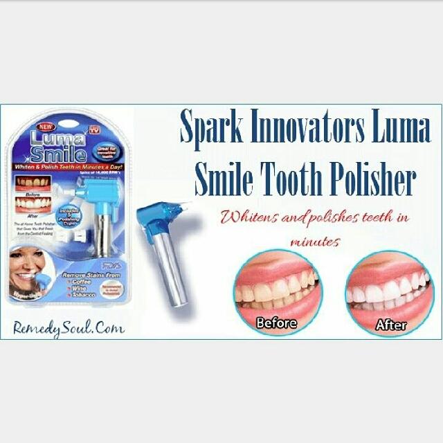 Luma Smile Alat Pembersih Gigi Pemutih Dan Pemoles Gigi Alat