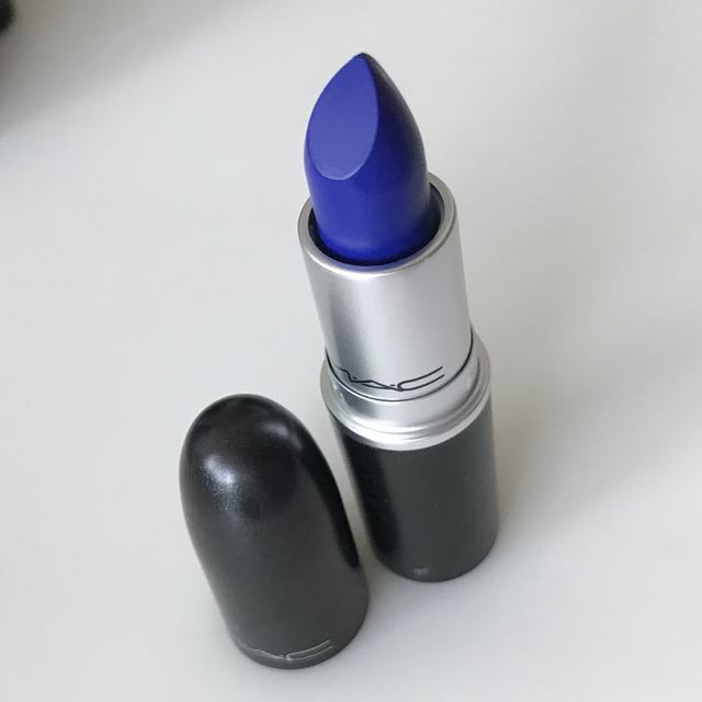 "MAC ""MIDNIGHT TROLL"" LIPSTICK"
