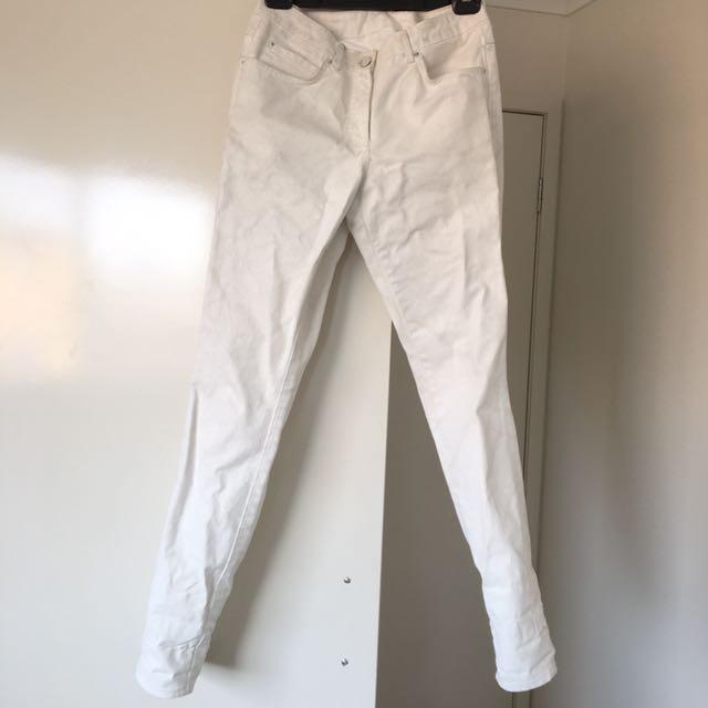 Maison Martin Margiela x H&M jeans white