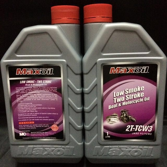 Maxoil 2t, Motorbikes, Motorbike Accessories on Carousell