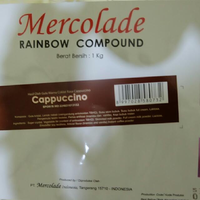 Mercolade Cokelat Cappucino 1kg