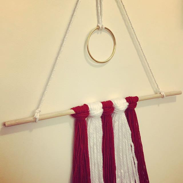 Modern Woollen hanging