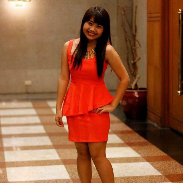 Neon Sexy Peplum Dress
