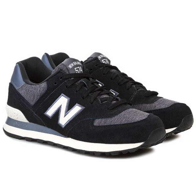 92e6ca6e7e5 NEW BALANCE ML 574 PNW US9.5 UK9 43 in black white