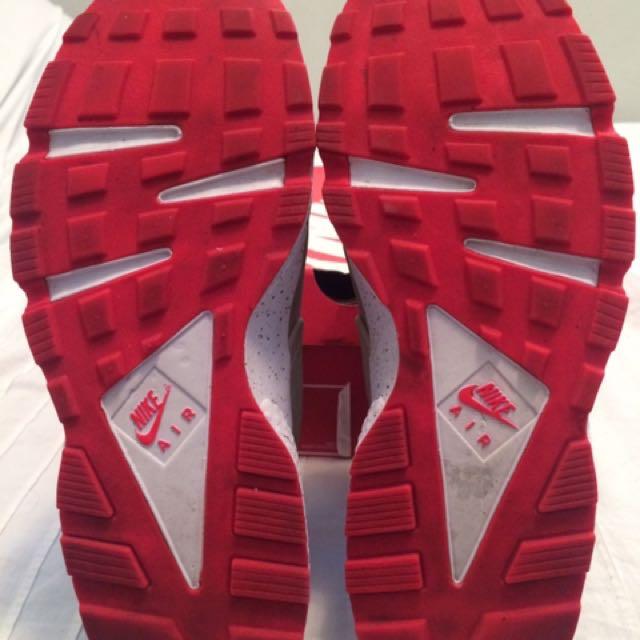 مجهود توقف لمعرفة المتفجرات Nike Huarache Beige Laser Crimson Natural Soap Directory Org