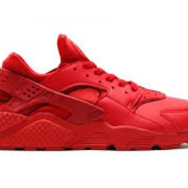 (收購)Nike Huarache 紅武士鞋