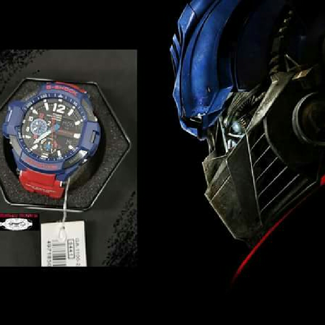 Optimus Prime Aviator Watch Men S Fashion Watches On Carousell