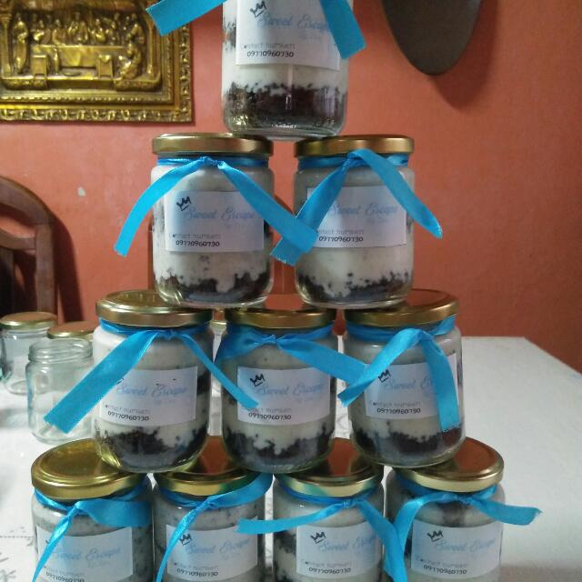 Oreo Cheesecake In A Jar