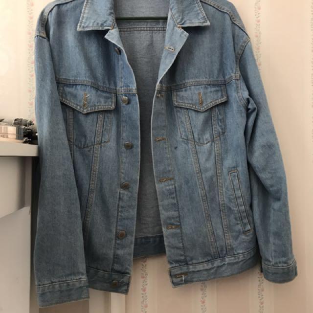 Oversized Jacket (New Condition)