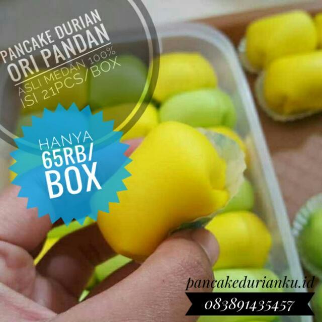 Pancake Durian Asli Medan 100%