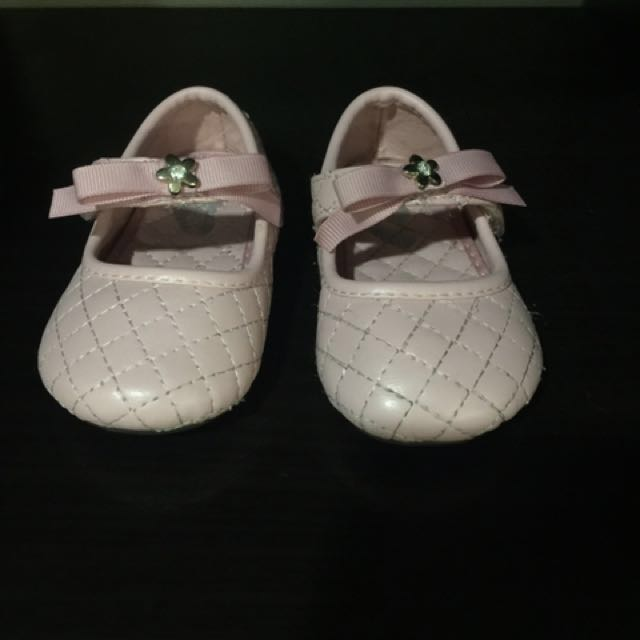 Pink shoes