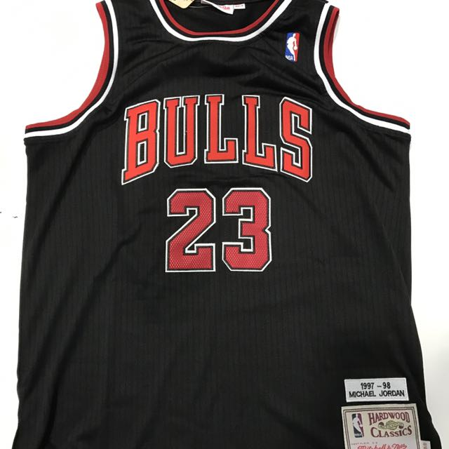 PO  NBA Chicago Bulls Michael Jordan Swingman Jersey 4dc3740a1