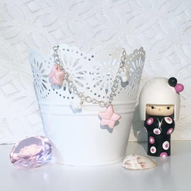 Polymer Clay 'Paper Star' Bracelet