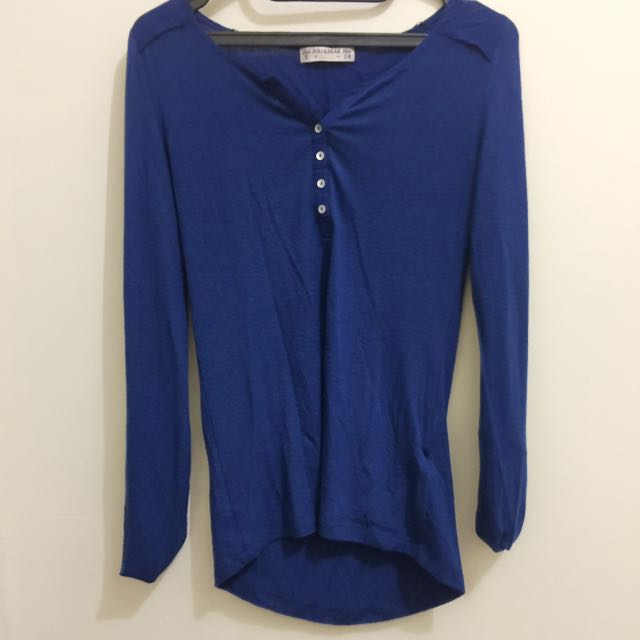 Pull and Bear Blue electric top