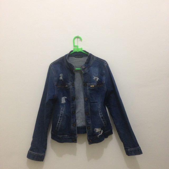Ripped Jacket jeans (miami beach)