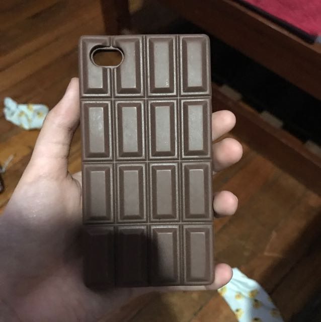 Rubber iPhone 4s Chocolate Case
