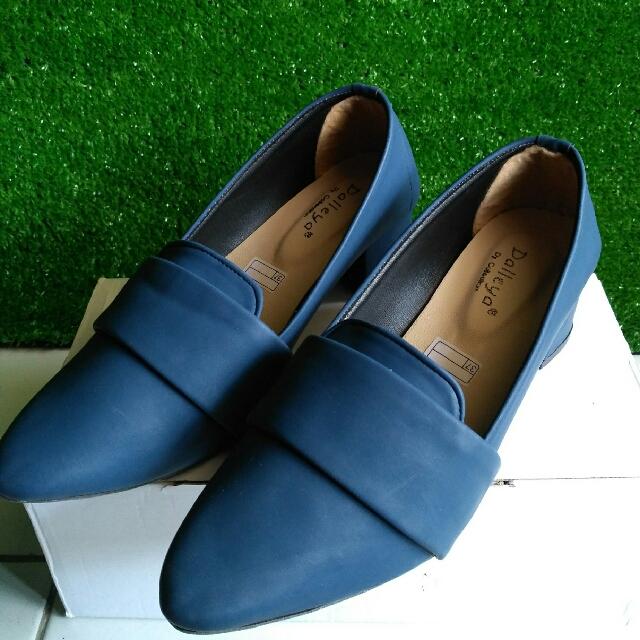 Sepatu Pantopel Shoes Navy