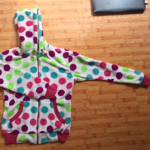 Soft Polkadot Rainbow Jacket (Merk tertera)