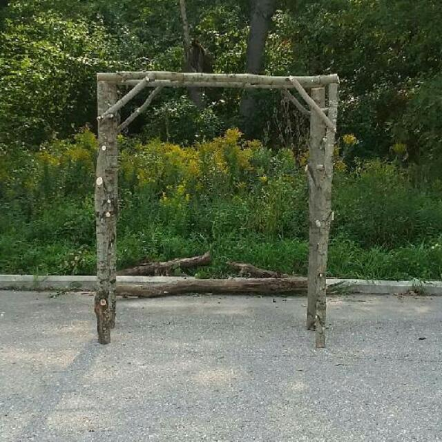 Solid Maple Arbour 5x7 Feet