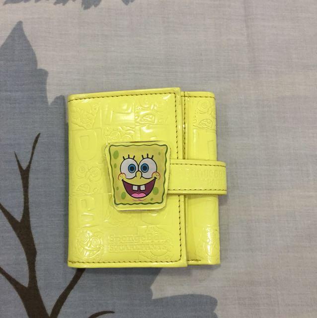 Spongebob trifold wallet